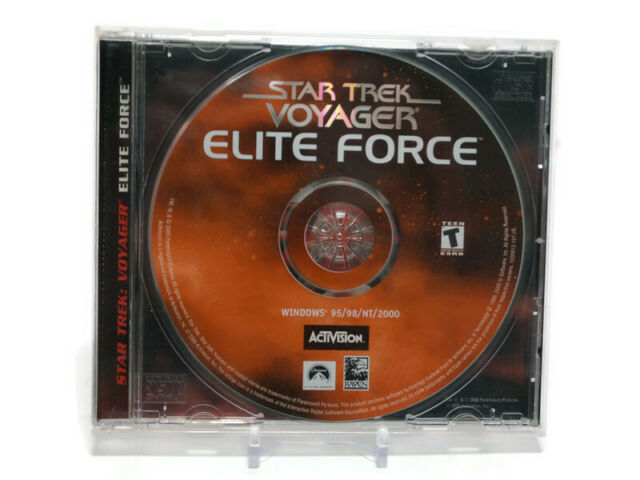 Star Trek: Voyager Elite Force Expansion Pack PC 95/2000 With Key