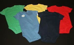 New Carter/'s 5 Pack Bodysuits Tops MR Fix IT Boys NWT Size Prem NB 3m 6m 9m 24m