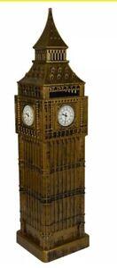 London Big Ben Money Coin Box British Souvenir Gift Large Size - East & West