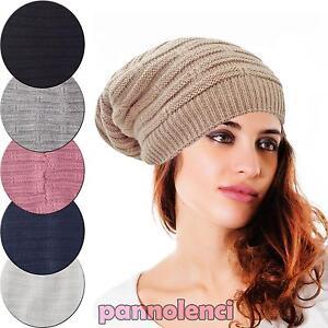Caricamento dell immagine in corso Cappello-donna-tricot-invernale-maglia- cappellino-nuovo-idea- 0c334121a97b