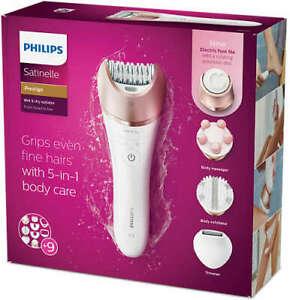 Philips-BRE652-00-Satinelle-Prestige-Wet-amp-Dry-Head-to-Toe-Epilator-9-Accs