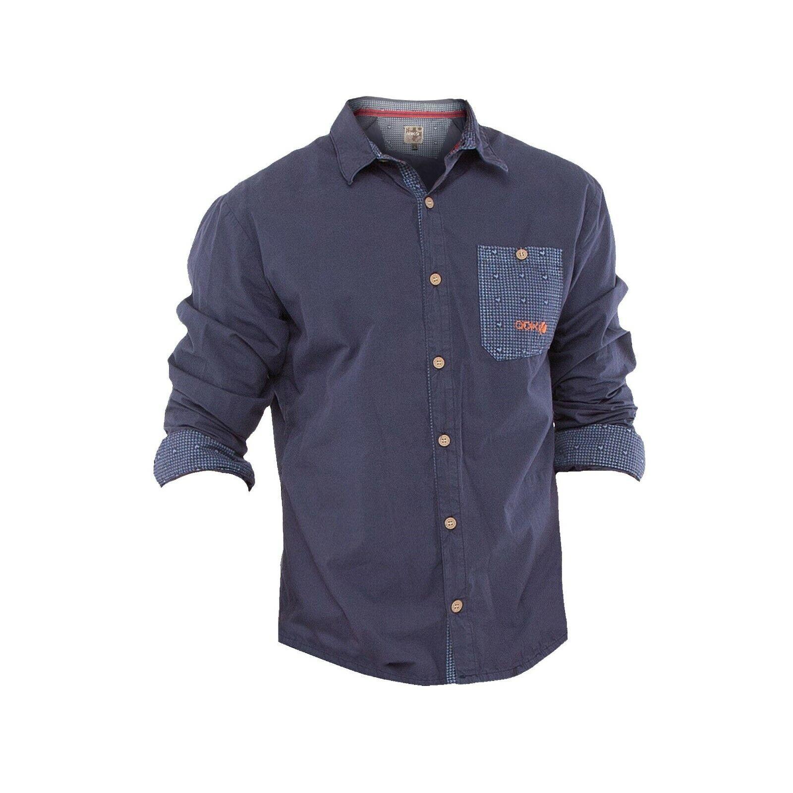 Ny thian Shan camisa-ligero camisa manga larga de algodón para hombre