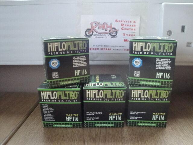 HONDA CRF250R / CRF250X FITS 2004 / 2019 HIFLOFLITRO OIL FILTER   HF116   5 PACK