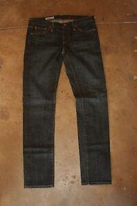 Adriano-Goldschmied-USA-The-Stilt-Cigarette-Leg-Jeans-Dark-Wash-Denim-SZ-27R