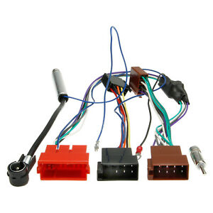 Auto-Radio-Antennen-Adapter-Kabel-DIN-ISO-8-Pol-Buchse-Stecker-fuer-KFZ-Audi-Seat