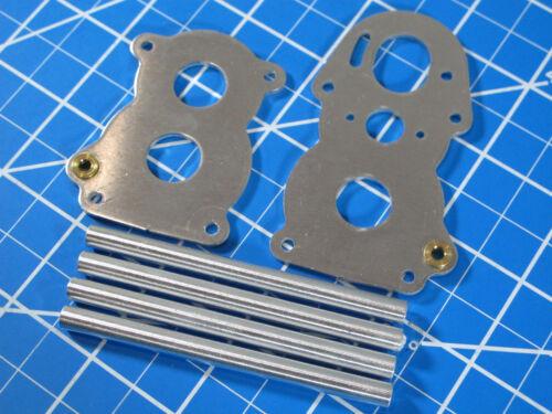 New Tamiya Part BD14 BD15 BD18 Transmission Gear Box Aluminum 1//14 Semi Truck