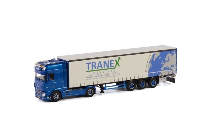 WSI 01-1705 DAF XF SSC Curtainside Trailer Tranex