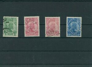 Liechtenstein-1912-Mi-1-2-3-Timbres-Used-Plus-Sh-Boutique
