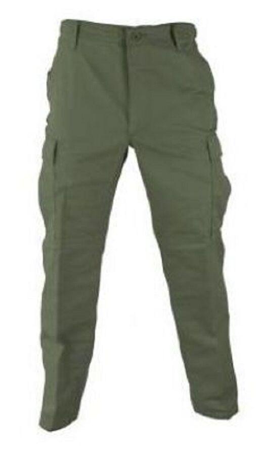 Us propper Army BDU military Pants Pantalones Campo Pantalones twill verde oliva verde MEDIUM SHORT