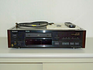 Sony CDP-X777ES High-End CD-Player Schwarz top gepflegt, FB&BDA, 2J.Garantie