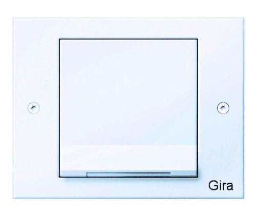 Rahmen einfach reinweiß IP44 Gira Steckdose Unterputzsteckdose Deckel TX/_44