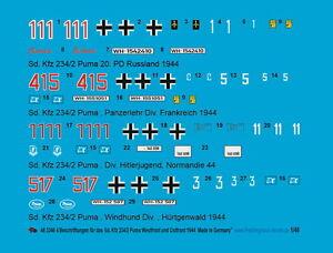 Peddinghaus-1-48-3346-4-Sd-Kfz-234-2-Puma-Westfront-und-Ostfront-1944