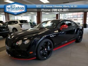 2017 Bentley Continental GT GT V8 S Twin Turbo 4.0L 500HP Nav Heated Leather Black Rims