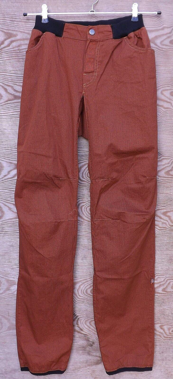 E9 Ligero Pantalones Para Escalar mon-10, NUEVO, ladrillo