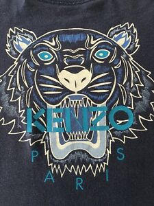 8e67e89b Image is loading Boys-Kenzo-Tiger-Print-T-Shirt-Age-8
