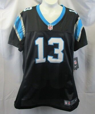 Nike Onfield Carolina Panthers Kelvin Benjamin 13 NFL Womens Jersey Size Large 887223551454 | eBay