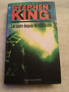 STEPHEN-KING-LAS-CUATRO-DESPUES-DE-MEDIANOCHE-LIBRO-TAPA-DURA-430-PAGS-1992