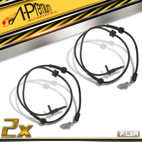 A-Premium 2x Front ABS Wheel Speed Sensors for  2007-2014 Nissan Altima Maxima