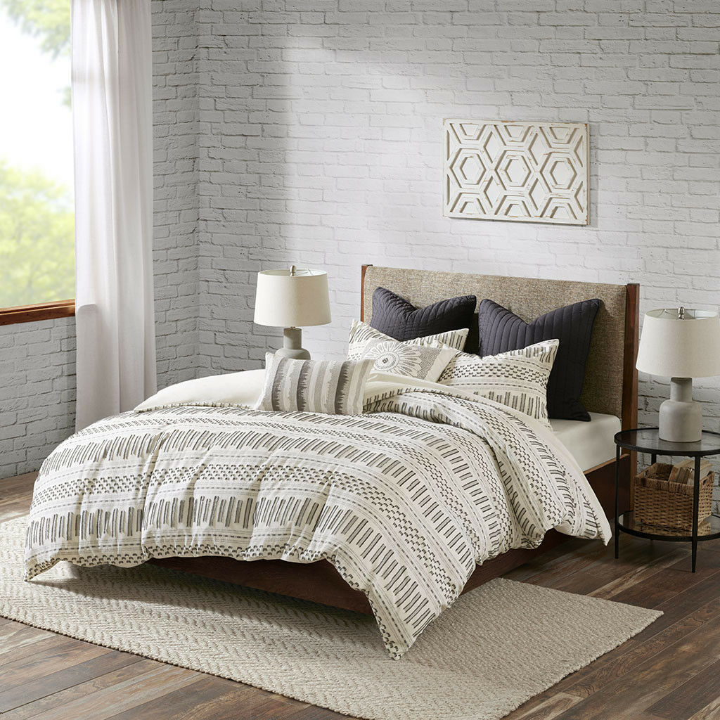 INK+IVY Rhea Cotton Jacquard Comforter Mini Set