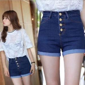denim shorts korean