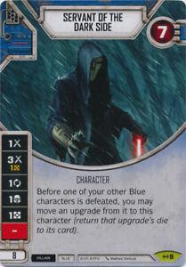 servant of the dark side rare empire at war 9 star wars destiny