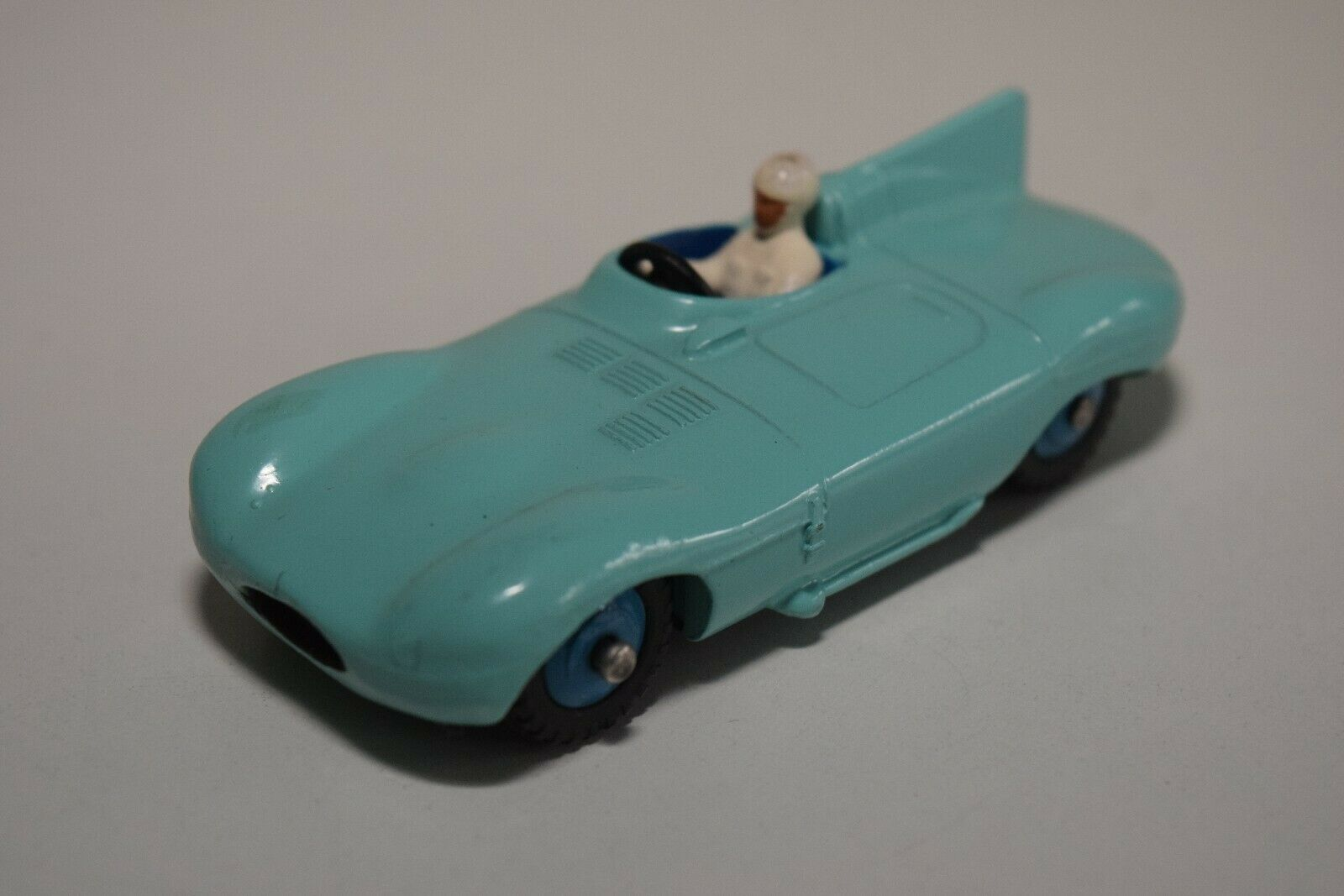 DD 1 43 DINKY TOYS 238 JAGUAR D-TYPE SPORTS CAR TURQOUISE VN MINT CONDITION