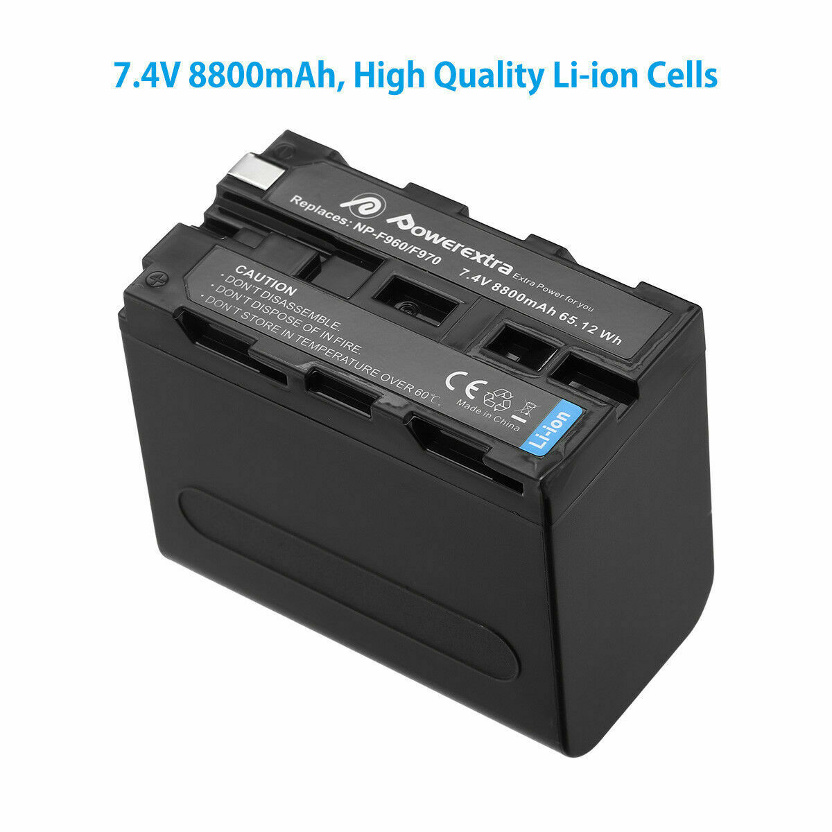 Bateria 10400mah cargador para Sony np-f-750 f-950 f-960