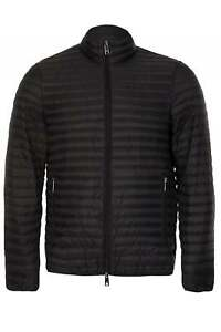Emporio-Armani-Quilted-Shell-Down-Jacket-Black