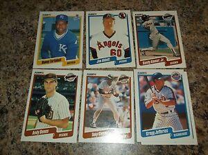 Details About 1990 Fleer 207 Gregg Jefferies Baseball Card