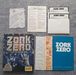 Zork-Zero-Apple-II-IIe-IIc-IIGS-Infocom-vintage-computer-game-1988-Zork-0