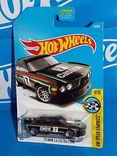 Hot Wheels 2017 HW Speed Graphics #57 '73 BMW 3.0 CSL Race Car Black CASTROL