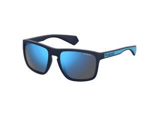 Occhiali-da-Sole-Polaroid-Polarizzato-PLD-2079-S-FLL-5X-blu-specchiato