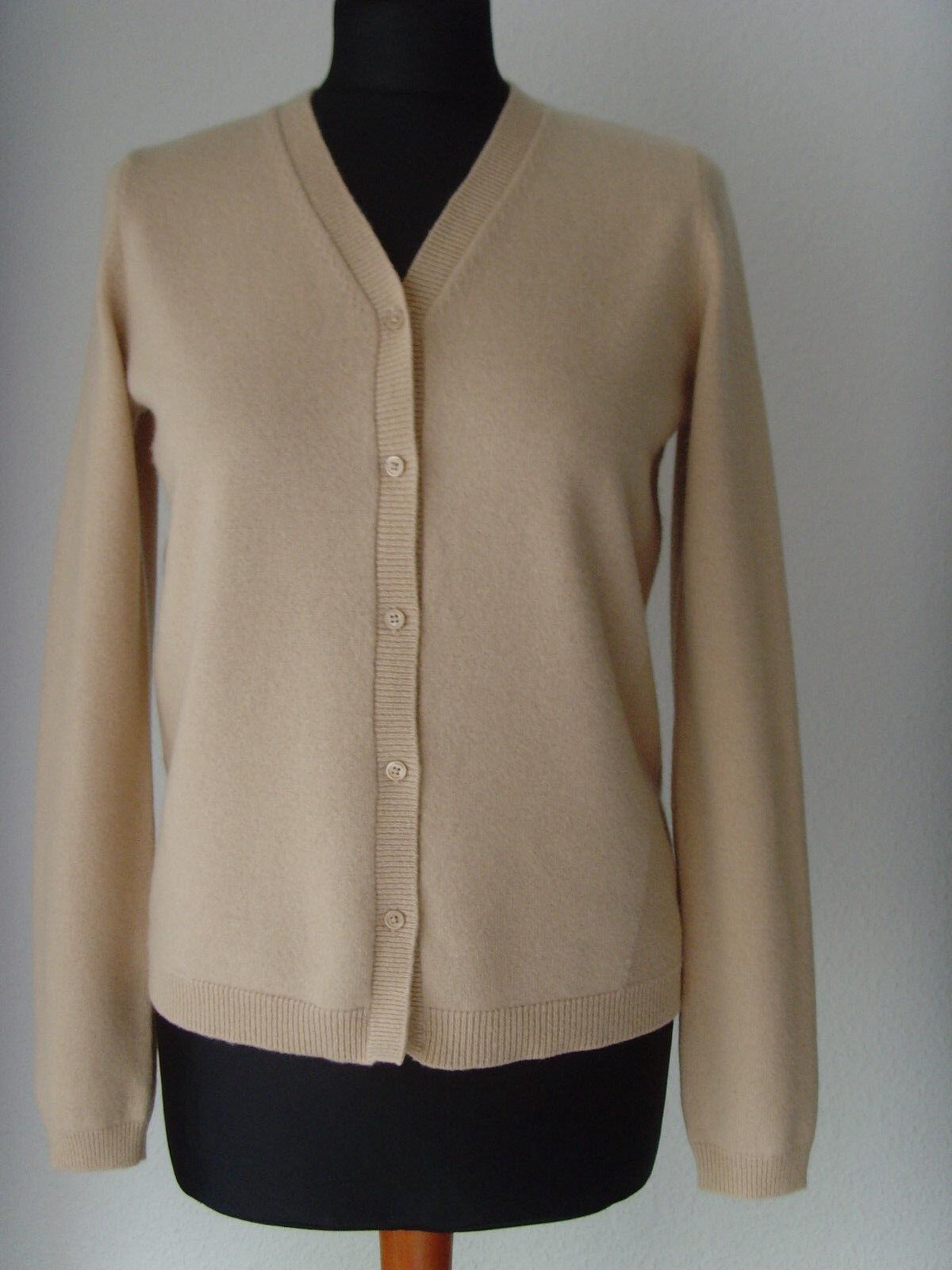 Strickjacke - 100% Cashmere - Luxus Marke - Original SCHUMACHER  - Gr.2 S