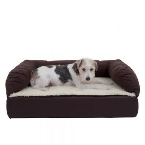 Orthopaedic Dog Bed Ideal Senior Dogs Small braun Beige Memory Foam Dog Bed