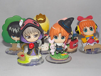 Gintama Japanese Anime Figures 7cm Boxed CHN Ver.