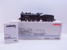 LOT 40838 | Schöne Märklin H0 34988 Dampflokomotiove BR P8 digital in OVP