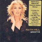 Breathe [Single] by Faith Hill (CD, Aug-2000, Warner Bros.)