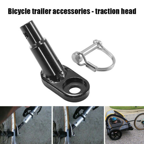 Bike Bicycle Trailer Hitch Coupler Attachment Angled Elbow