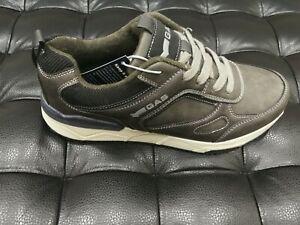 Uomo Dettagli Su Gas Nuovo Scarpe Sportive Pelle Grigio 44 Tg Da Sneakers Calzature xodCBer