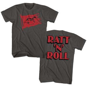 Ratt-Band-Ratt-N-Roll-Double-Sided-Adult-T-Shirt-Heavy-Metal-Music