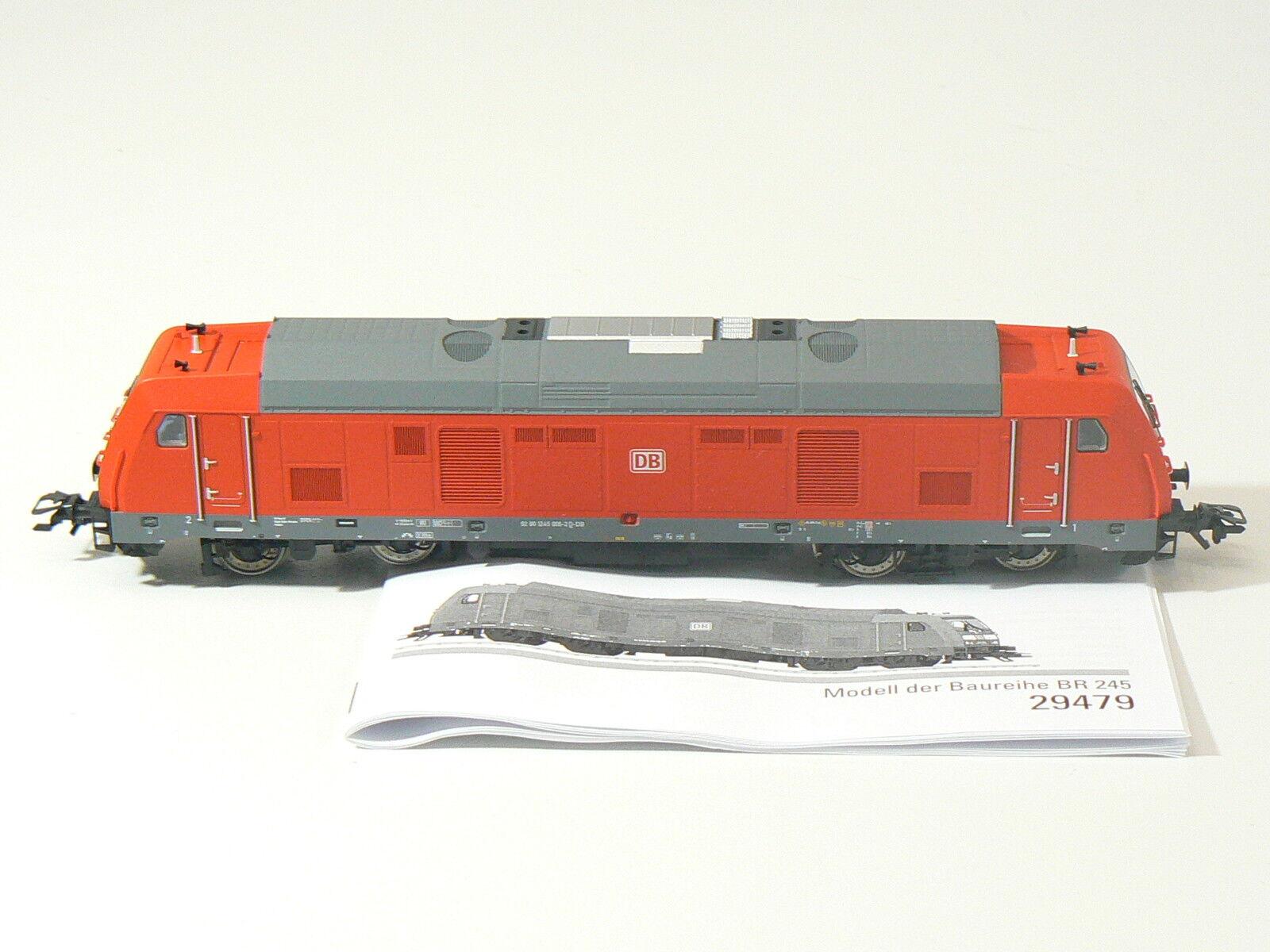 h0 da 29479, Diesel BR 245, DB AG, digitale, mfx, Audio, nuovo hobbisti