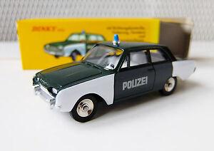 DINKY-ATLAS-N-551-FORD-Taunus-17M-Polizei-NEUVE-en-boite