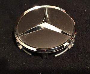 Mercedes benz wheel center cap chrome 969 18 20 wheel for Mercedes benz center cap
