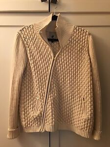 One Teaspoon Oversized Cream colored Sweater/Vest combo Size Small ...