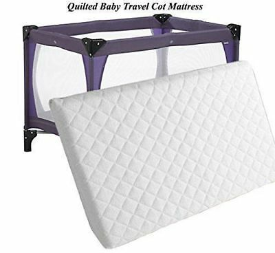 New Thick Travel Cot Mattress Fits Mothercare Argos Etc