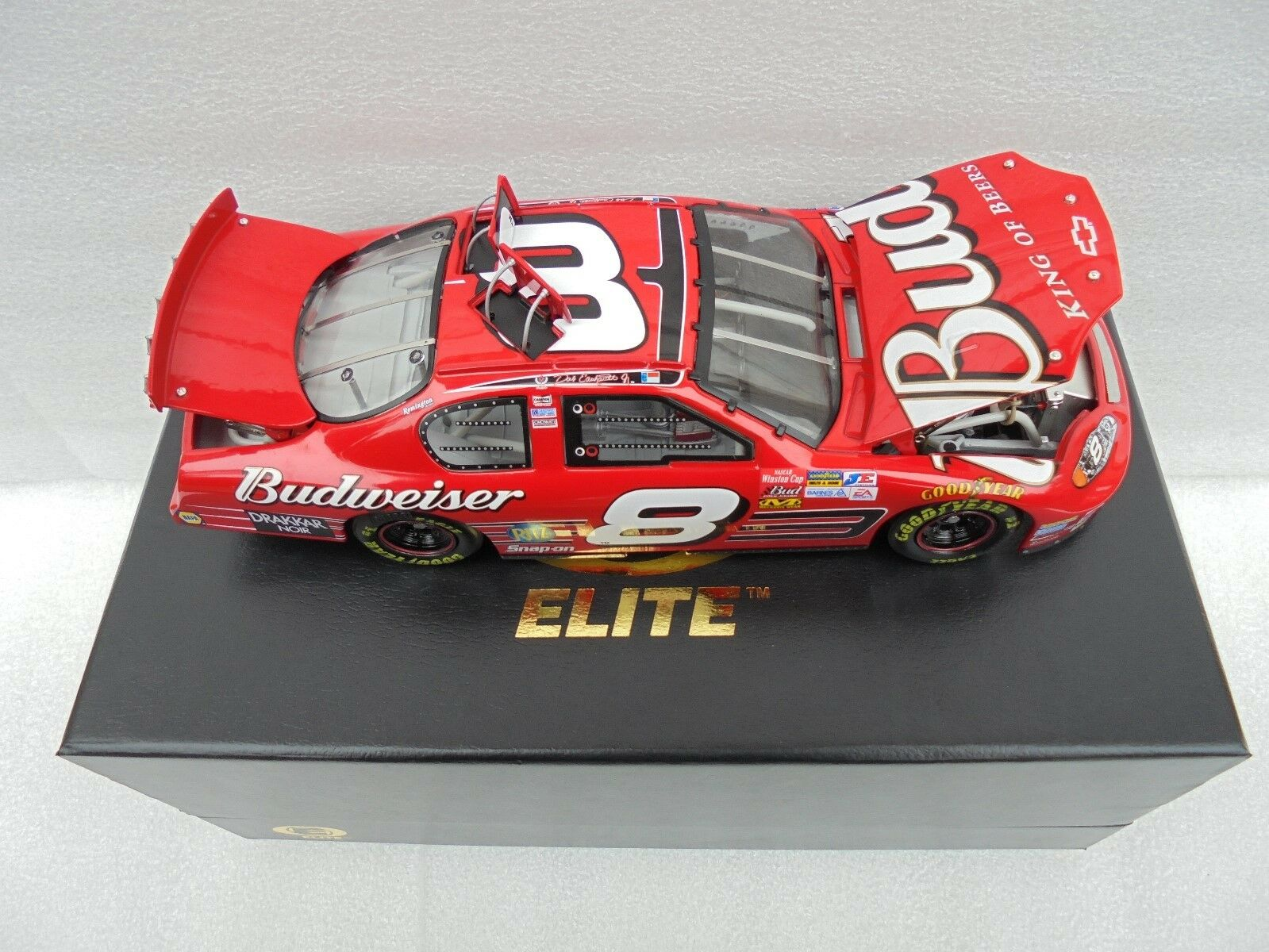 Dale Earnhardt Jr  8 Budweiser 2003 Monte Cochelo Acción Racing Collectables Club of America Elite NasCoche Diecast