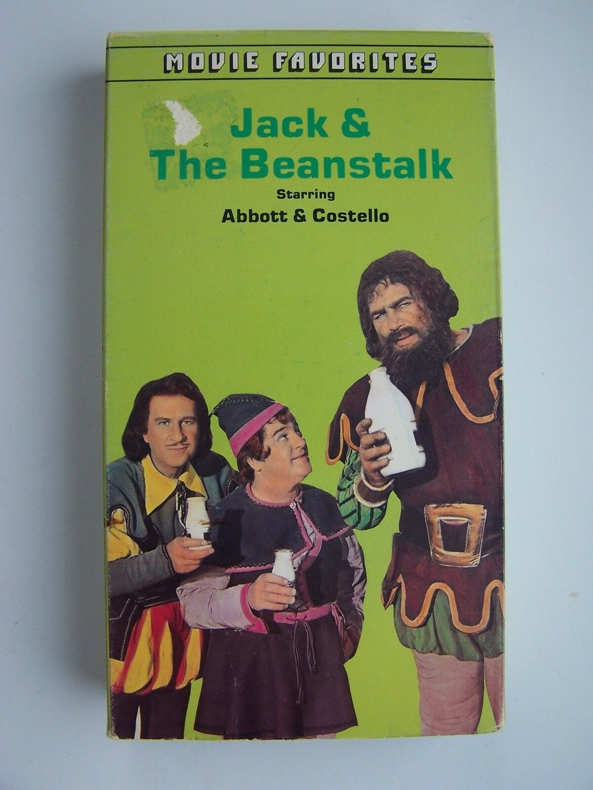 Abbott & Costello in Jack and the Beanstalk VHS Video T