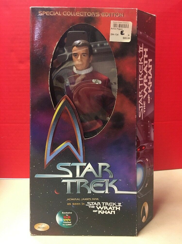 Admiral James Kirk Star  Trek Wrath Of Khan Action Figure 1999  autorisation officielle