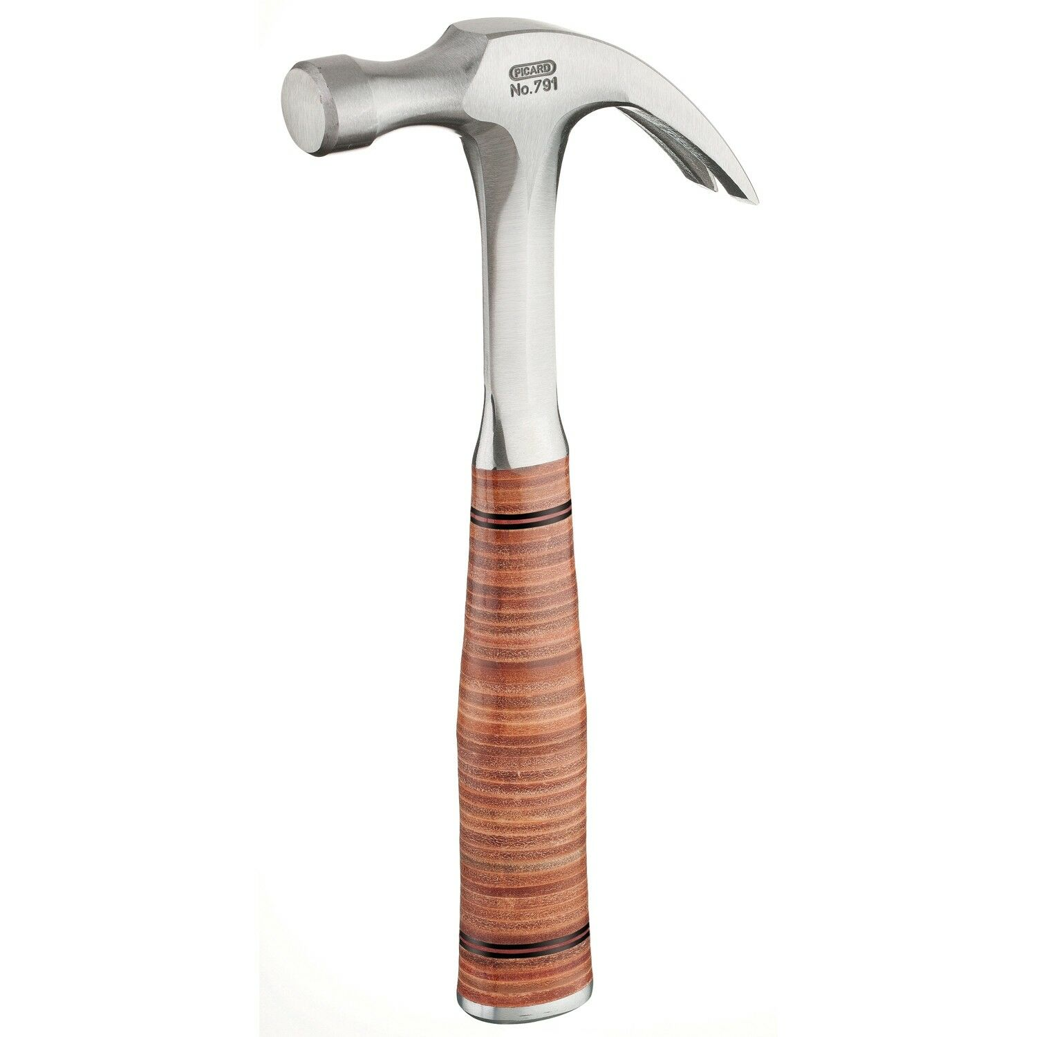 Picard Solid Forged Claw Hammer With Leather Grip Handle (Various Weights)
