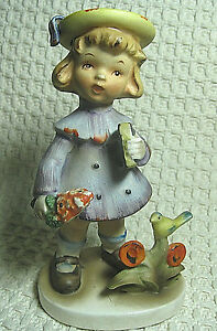 Vintage-Lefton-China-Figurine-034-Sunday-Best-034-1110-Made-in-Japan-Hand-Painted
